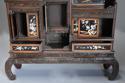 19thc highly decorative large Japanese Meiji period shodana cabinet - picture 10