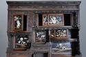 19thc highly decorative large Japanese Meiji period shodana cabinet - picture 6