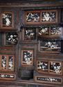 19thc highly decorative large Japanese Meiji period shodana cabinet - picture 7