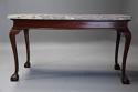 Fine Georgian style mahogany side table of William Kent influence - picture 13