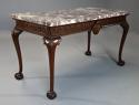 Fine Georgian style mahogany side table of William Kent influence - picture 2