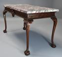 Fine Georgian style mahogany side table of William Kent influence - picture 4