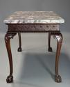 Fine Georgian style mahogany side table of William Kent influence - picture 8