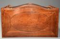 Superb quality serpentine shape satinwood gentleman's dressing chest - picture 11