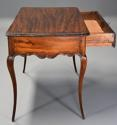 Late 18th century French walnut side table with superb rich patina - picture 10