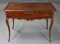 Late 18th century French walnut side table with superb rich patina - picture 2