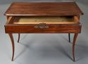 Late 18th century French walnut side table with superb rich patina - picture 3