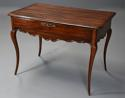 Late 18th century French walnut side table with superb rich patina - picture 4