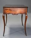 Late 18th century French walnut side table with superb rich patina - picture 9
