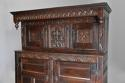 Wonderful mid 17thc carved oak press cupboard with superb patina - picture 5