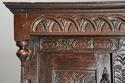 Wonderful mid 17thc carved oak press cupboard with superb patina - picture 6