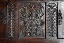 Wonderful mid 17thc carved oak press cupboard with superb patina - picture 7