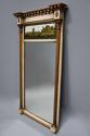 Early 19th century Regency eglomise, gilt and painted pier mirror - picture 2