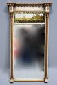 Early 19th century Regency eglomise, gilt and painted pier mirror - picture 3