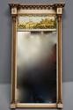 Early 19th century Regency eglomise, gilt and painted pier mirror - picture 4