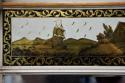 Early 19th century Regency eglomise, gilt and painted pier mirror - picture 7