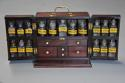 Mid 19th century mahogany travelling apothecary cabinet - picture 3