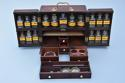 Mid 19th century mahogany travelling apothecary cabinet - picture 4