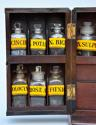 Mid 19th century mahogany travelling apothecary cabinet - picture 5