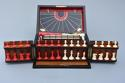 19thc coromandel fitted games compendium by 'Leuchars & Son, London' - picture 4