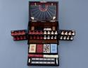 19thc coromandel fitted games compendium by 'Leuchars & Son, London' - picture 5