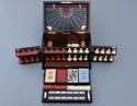 19thc coromandel fitted games compendium by 'Leuchars & Son, London' - picture 6