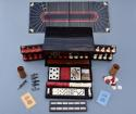 19thc coromandel fitted games compendium by 'Leuchars & Son, London' - picture 9