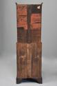 Queen Anne style walnut bureau bookcase of small proportions - picture 12