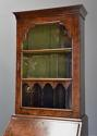 Queen Anne style walnut bureau bookcase of small proportions - picture 7