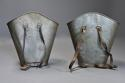 Highly decorative pair of grape carriers with painted decoration - picture 10