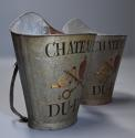 Highly decorative pair of grape carriers with painted decoration - picture 2