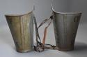 Highly decorative pair of grape carriers with painted decoration - picture 9