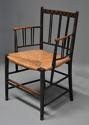 Rare early model of a Sussex armchair with original paintwork - picture 1