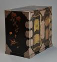 Early 20th century Japanese two door lacquered table cabinet - picture 10