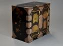 Early 20th century Japanese two door lacquered table cabinet - picture 2