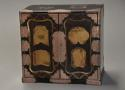Early 20th century Japanese two door lacquered table cabinet - picture 4
