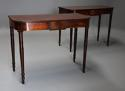 Pair of early 19th century mahogany console tables - picture 2