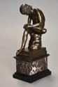 19thc French bronze figure of 'Spinario', after the Antique - picture 1