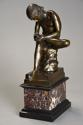 19thc French bronze figure of 'Spinario', after the Antique - picture 2