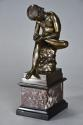 19thc French bronze figure of 'Spinario', after the Antique - picture 3