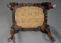 Early 20th century walnut cabriole leg stool in the Queen Anne style - picture 10