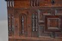 Rare mid-late 17th century oak moulded front coffer with fine patina - picture 5