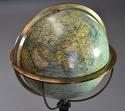 Fine quality 19th century William IVth globe on rosewood stand - picture 3