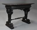 Late 19thc ebonised walnut centre table in the Renaissance style - picture 2