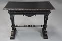 Late 19thc ebonised walnut centre table in the Renaissance style - picture 3