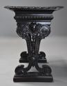 Late 19thc ebonised walnut centre table in the Renaissance style - picture 6