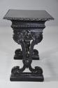 Late 19thc ebonised walnut centre table in the Renaissance style - picture 7