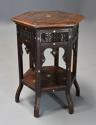 Late 19th century hexagonal Moorish table - picture 2
