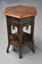 Late 19th century hexagonal Moorish table - picture 5