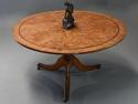 Late 19th century burr elm breakfast table - picture 3